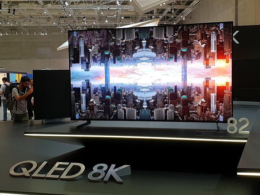 Samsung QLED 8K on show at IFA 2018